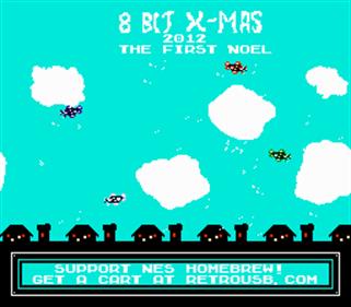 8-Bit XMAS 2012 - Screenshot - Game Title
