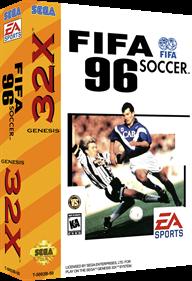 FIFA Soccer 96 - Box - 3D