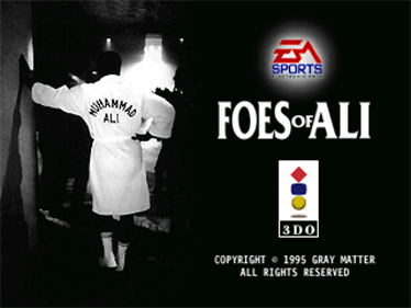 Foes of Ali - Screenshot - Game Title