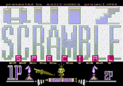 Quiz Scramble Special - Screenshot - Game Title
