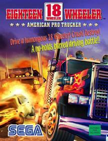 18 Wheeler: American Pro Trucker - Advertisement Flyer - Front