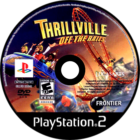 Thrillville: Off the Rails - Disc