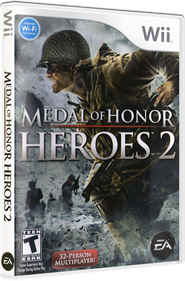 Medal of Honor: Heroes 2 - Box - 3D