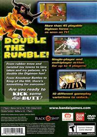 Digimon Rumble Arena 2 - Box - Back