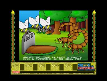 Bobby Blockhead vs the Dark Planet - Screenshot - Game Over