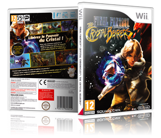 Final Fantasy Crystal Chronicles: The Crystal Bearers - Box - 3D