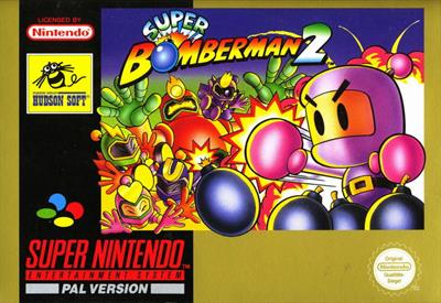 Super Bomberman 2 - Box - Front
