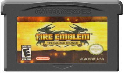 Fire Emblem: The Sacred Stones - Cart - Front
