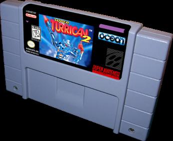 Super Turrican 2 - Cart - 3D