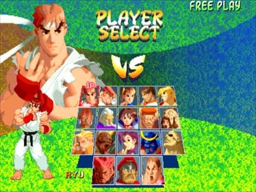 Street Fighter Alpha 2 - Screenshot - Game Select