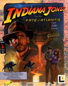 Indiana Jones and the Fate of Atlantis - Box - Front