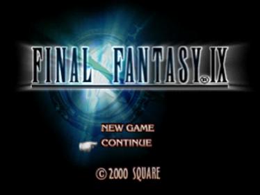 Final Fantasy IX - Screenshot - Game Title