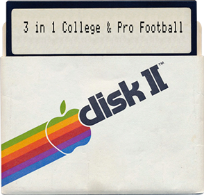 3 in 1 College & Pro Football - Fanart - Disc