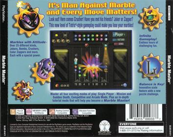 Marble Master - Box - Back