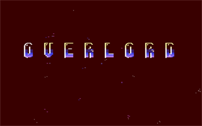 Overlord (Virgin Mastertronic) - Screenshot - Game Title
