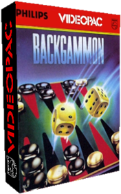 Backgammon - Box - 3D