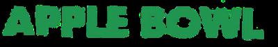 Apple Bowl - Clear Logo