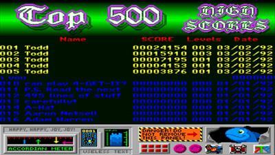 4-Get-It - Screenshot - High Scores