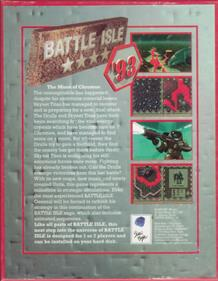 Battle Isle '93: The Moon of Chromos - Box - Back