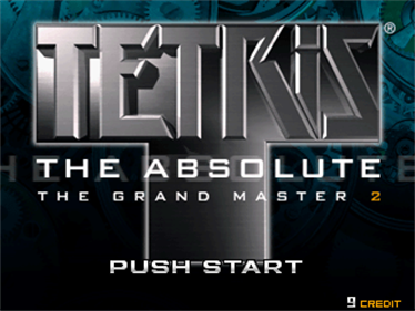 Tetris the Absolute: The Grand Master 2 - Screenshot - Game Title