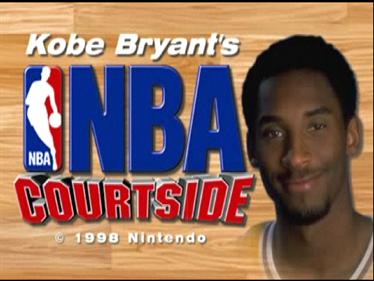 Kobe Bryant in NBA Courtside - Screenshot - Game Title