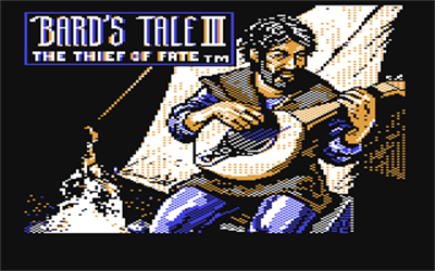 The Bard's Tale III: Thief of Fate - Screenshot - Game Title