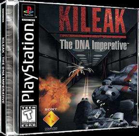 Kileak: The DNA Imperative - Fanart - Box - Front