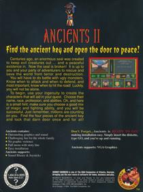 Ancients 2: Approaching Evil - Box - Back