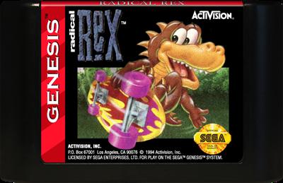 Radical Rex - Cart - Front