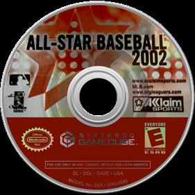 All-Star Baseball 2002 - Disc