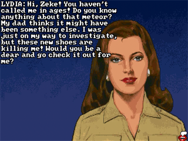Leather Goddesses of Phobos 2: Gas Pump Girls Meet the Pulsating Inconvenience from Planet X! - Screenshot - Game Title