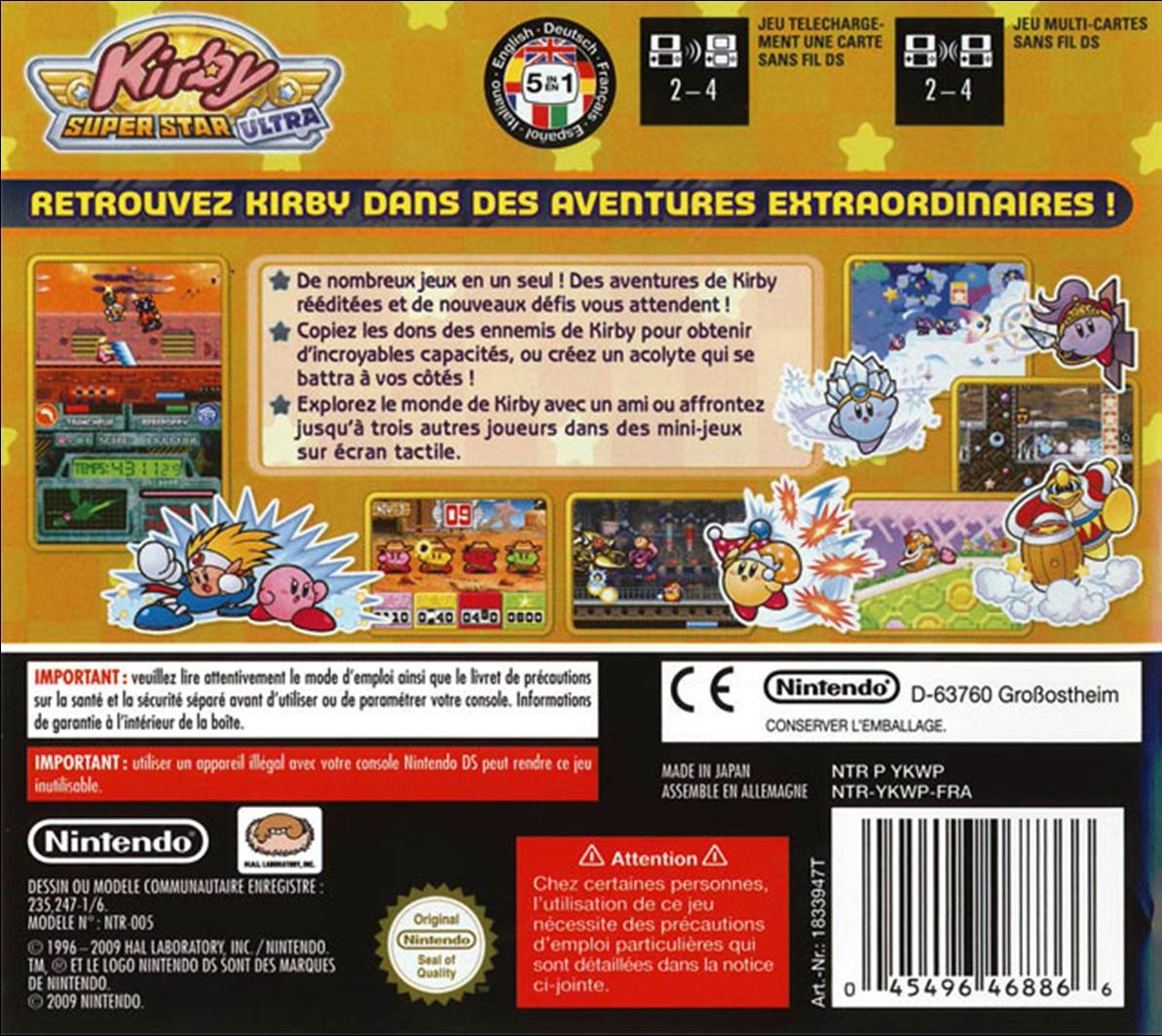 Kirby Super Star Ultra Review - IGN |Kirby Super Star Box