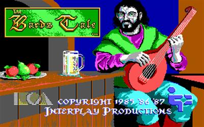 The Bard's Tale - Screenshot - Game Title
