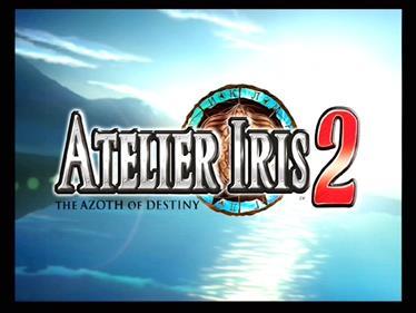 Atelier Iris 2: The Azoth of Destiny - Screenshot - Game Title
