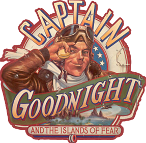 Captain Goodnight and the Islands of Fear - Clear Logo