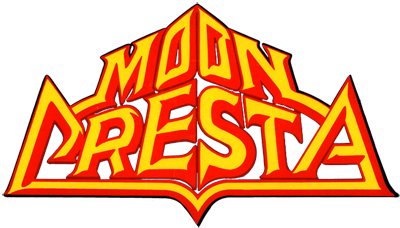 Moon Cresta - Clear Logo