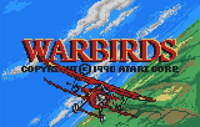 Warbirds - Screenshot - Game Title