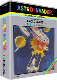 Astro Invader - Box - 3D