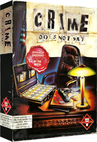 Crime Does Not Pay - Box - 3D