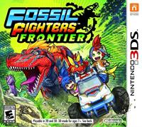 Fossil Fighters: Frontier - Box - Front