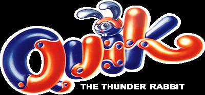 Quik the Thunder Rabbit - Clear Logo