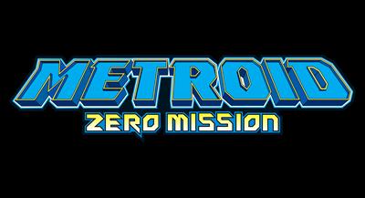 Metroid: Zero Mission - Clear Logo