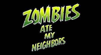 Zombies Ate My Neighbors - Clear Logo