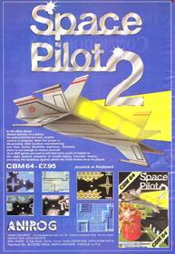 Space Pilot 2 - Advertisement Flyer - Front