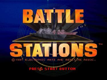 Battle Stations - Screenshot - Game Title