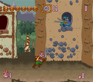 Power Piggs of the Dark Age - Screenshot - Gameplay