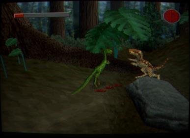 The Lost World: Jurassic Park - Screenshot - Gameplay