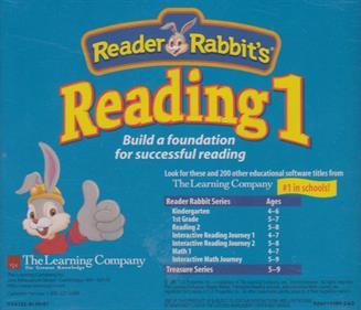 Reader Rabbit's Reading 1 - Box - Back