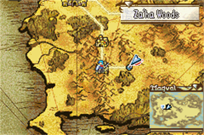 Fire Emblem: The Sacred Stones - Screenshot - Gameplay