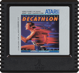 The Activision Decathlon - Cart - Front